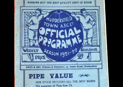 Huddersfield v Middlesbrough 01.05.1922