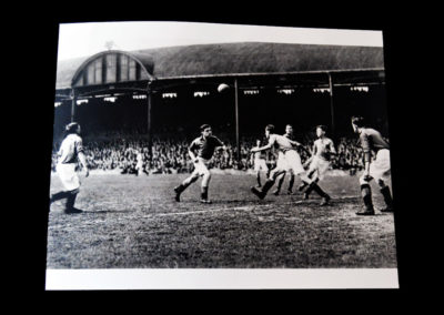 The Final - Leicester v Stockton 11.05.1946 - Alf Surrounded