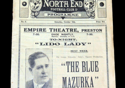 Preston v Man City 15.10.1927