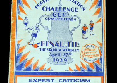 FA Cup Final Bolton v Portsmouth 27.04.1929