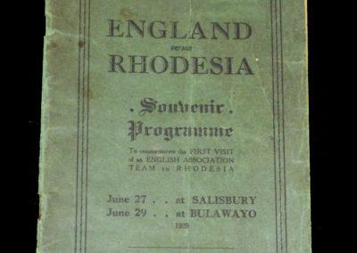 Rhodesia v England 11 27.06.1929