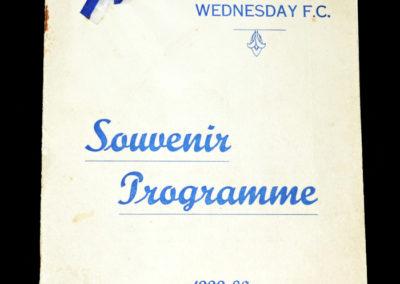 Sheffield Wednesday v Arsenal 07.09.1929