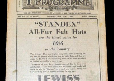 Liverpool v Newcastle 02.11.1929