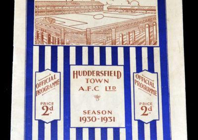 Huddersfield v Grimsby 01.09.1930