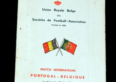 Portugal v Belgium 31.05.1931