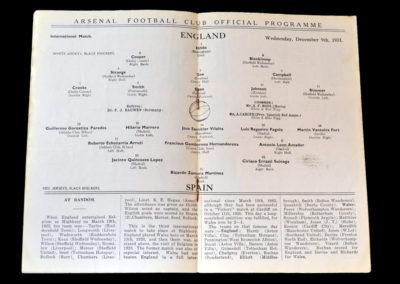 England v Spain 09.12.1931