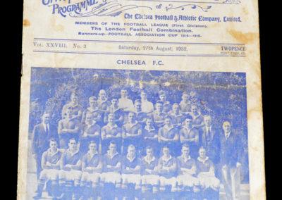Chelsea v Blackburn 27.08.1932