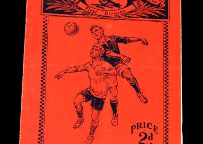 Arsenal v Birmingham 31.12.1932