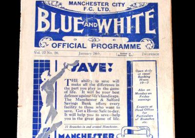 Man City v Walsall 28.01.1933