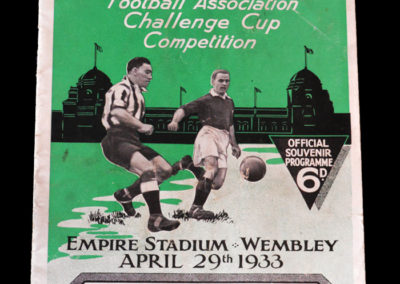 FA Cup Final Everton v Man City 29.04.1933