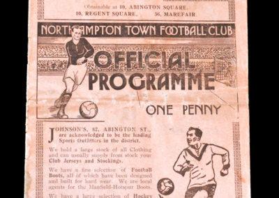 Northampton v Luton 26.08.1933