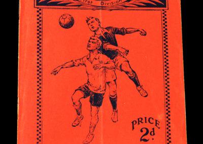 Arsenal v Aston Villa 10.03.1934