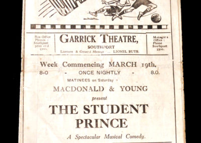 Southport v Stockport 17.03.1934