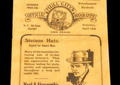Hull v Wolves 14.04.1923