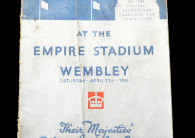 FA Cup Final - Sheff Wed v West Brom 27.04.1935