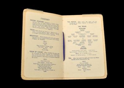 Scotland v England 06.04.1935 - Work's Trip Programme