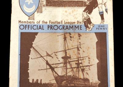 Portsmouth v Arsenal 25.08.1934