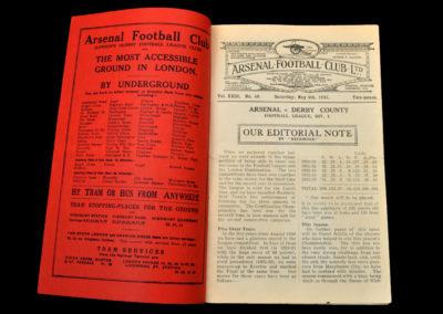 Arsenal v Derby 04.05.1935