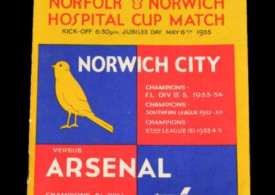 Norwich v Arsenal 06.05.1935