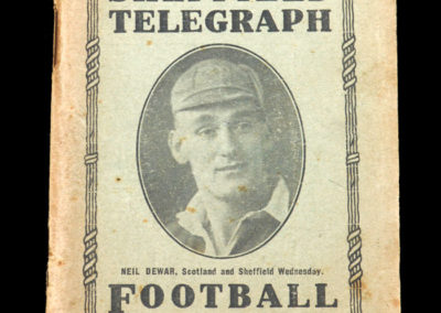 Sheffield Utd - Telegraph Football Guide Season 1934/35