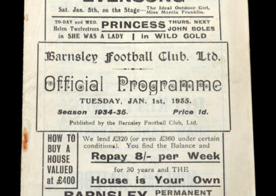 Barnsley v Sheffield Utd 01.01.1935