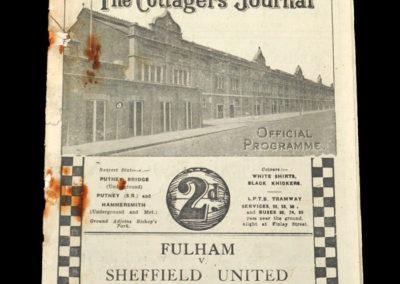Fulham v Sheffield Utd 19.04.1935