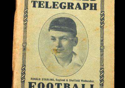 Sheffield Utd - Telegraph Football Guide 1935/36