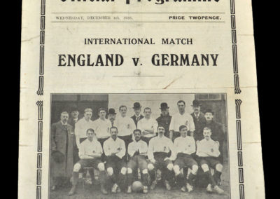 England v Germany 04.12.1935