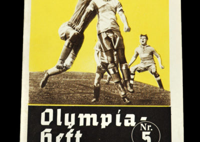Berlin Olympics Football 01.08.1936