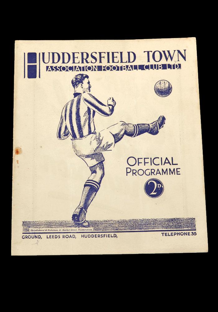 The Programmes – 1936/37 - 10 Footballs