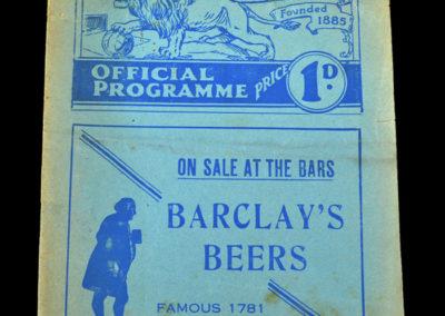 Millwall v Derby 20.02.1937