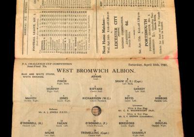 West Brom v Preston 10.04.1937