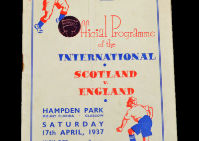 Scotland v England 17.04.1937
