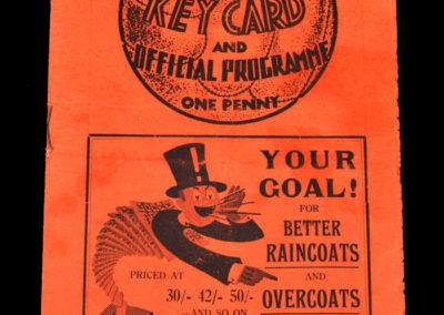 Middlesbrough v Sunderland 17.10.1936