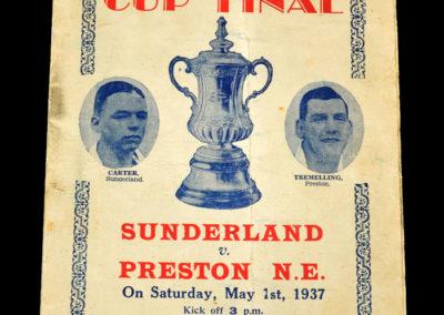 FA Cup Final - Sunderland v Preston 01.05.1937 - Pirate Cop