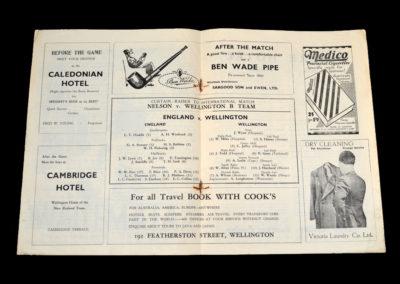 England v Wellington 29.05.1937