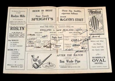 England v New Zealand 05.06.1937