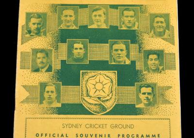 England v Australia 10.07.1937