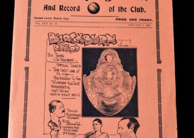 Spurs v Blackburn 08.01.1938 3rd Round 3-2