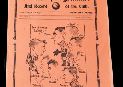 Spurs v Chesterfield 16.02.1938 5th Rd rep 2-1