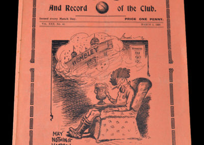 Spurs v Sunderland 05.03.1938 6th rd 0-1