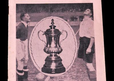 York City v Huddersfield 05.03.1938 6th rd 0-0
