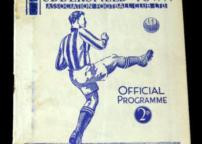 Huddersfield v York 09.03.1938 6th rd rep 2-1