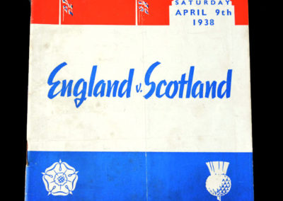 England v Scotland 09.04.1938