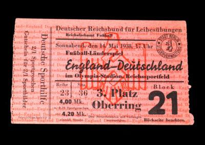 Germany v England 14.05.1938