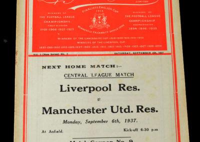 Liverpool v Charlton 04.09.1937