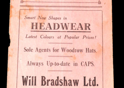 Accrington Stanley v Hull 23.10.1937