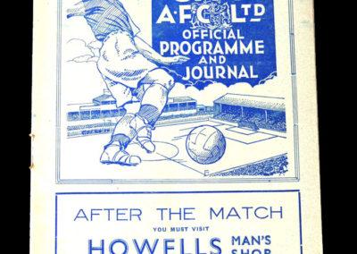 Cardiff v Crystal Palace 18.12.1937
