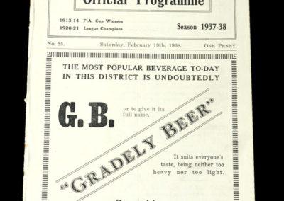 Burnley v Stoke 19.02.1938