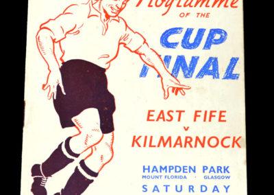 Scottish Cup Final - East Fife v Kilmarnock 23.04.1938